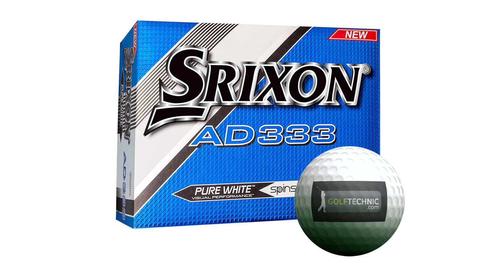 Balles de golf Srixon AD 333