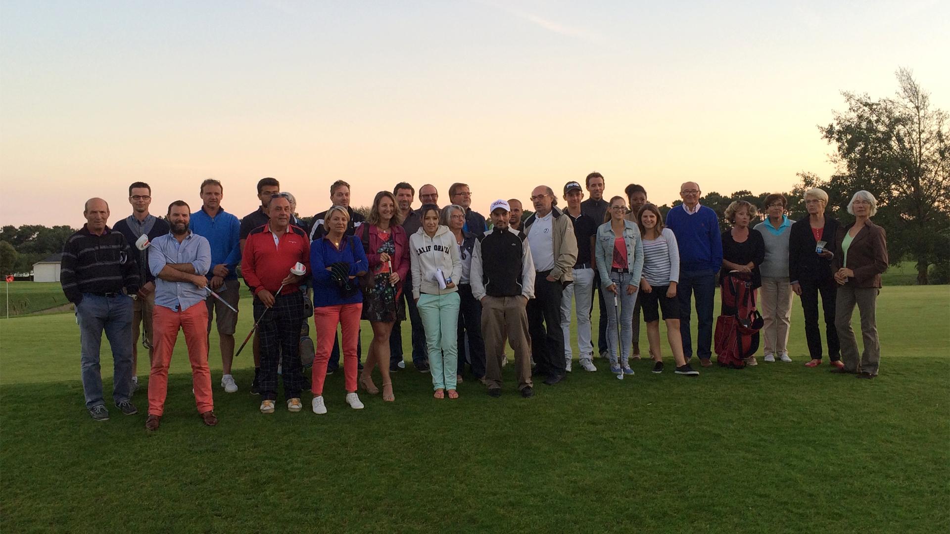 Compétition de classement de golf amateur france