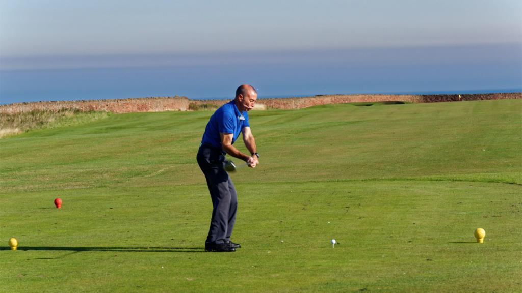 démarrage du swing golf