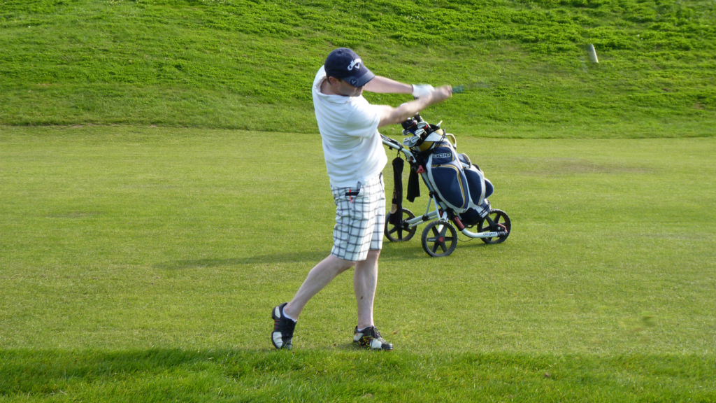 rythme équilibre swing golf