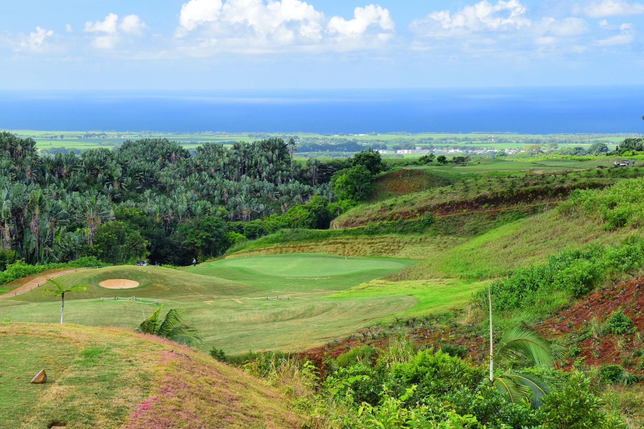 Parcours compétition de golf amateur