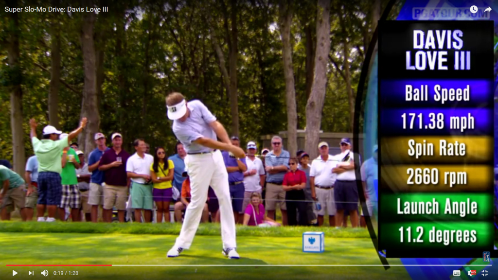 swing de golf Davis Love III