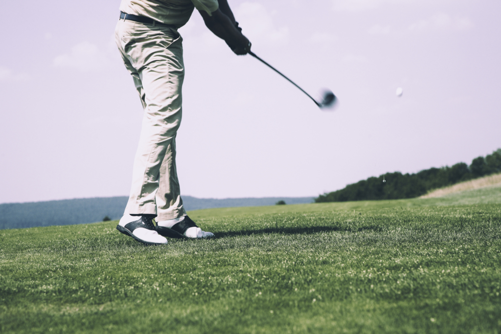 transition swing de golf