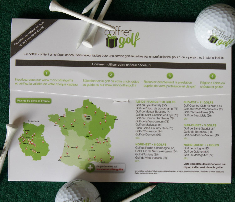 coffret cadeau 5 heures cours de golf avec un professionnel de la pga. Black Bedroom Furniture Sets. Home Design Ideas