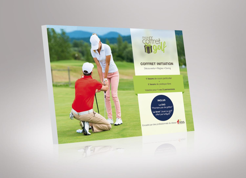 Cadeau cours de golf 1h initiation