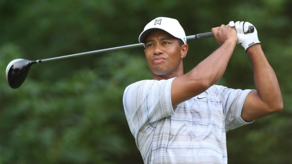 Golf mental Tiger Woods