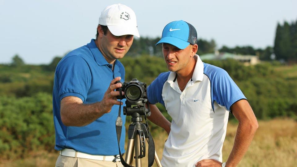 prendre une leçon de golf