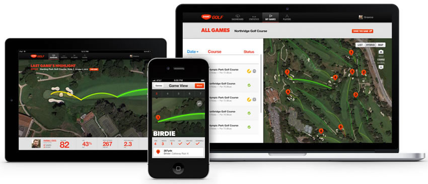 Test Game Golf GPS