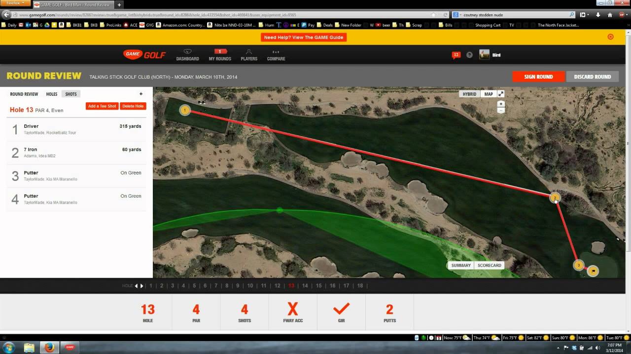 Test Game Golf 1