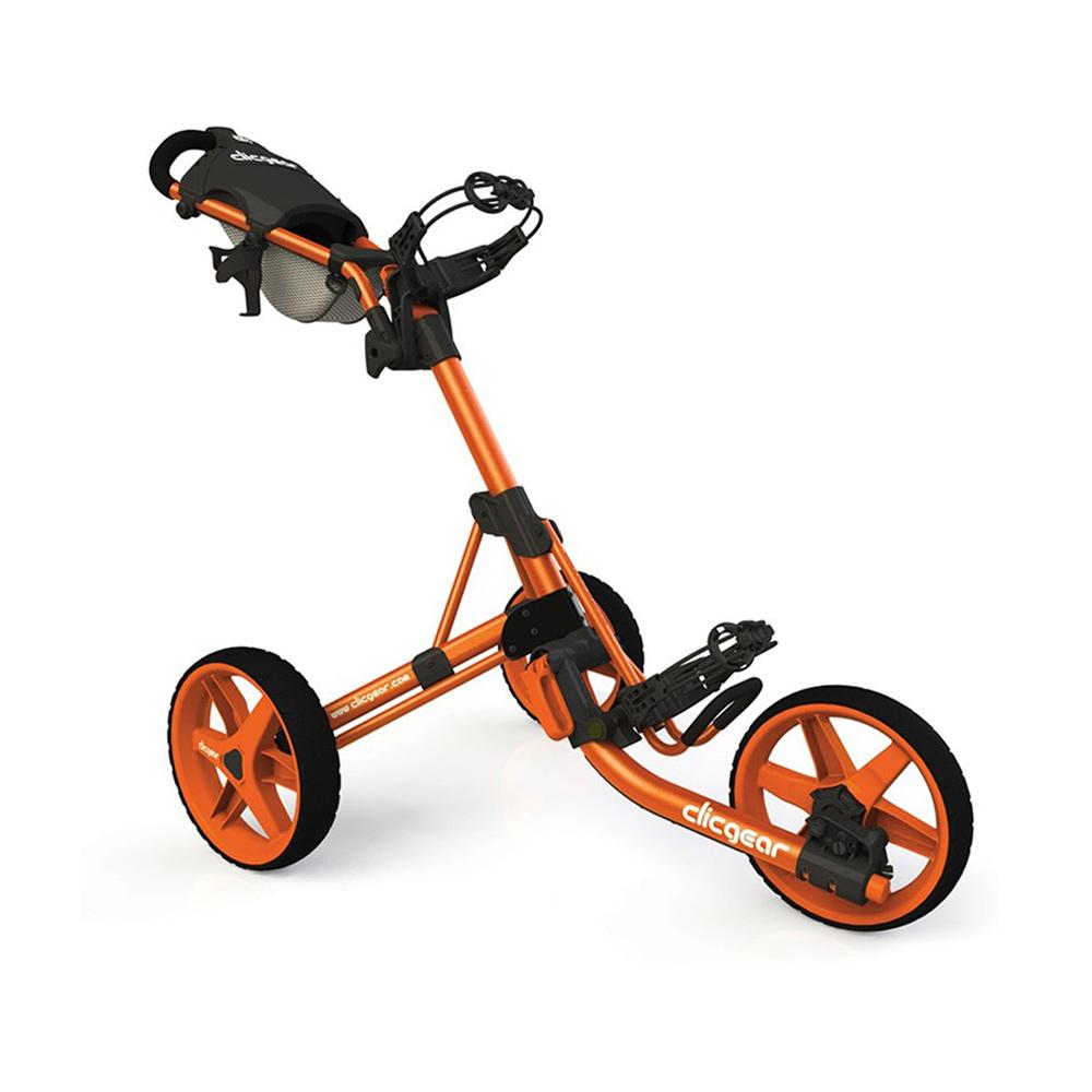 chariot 3 5 clicgear orange golftechnic. Black Bedroom Furniture Sets. Home Design Ideas