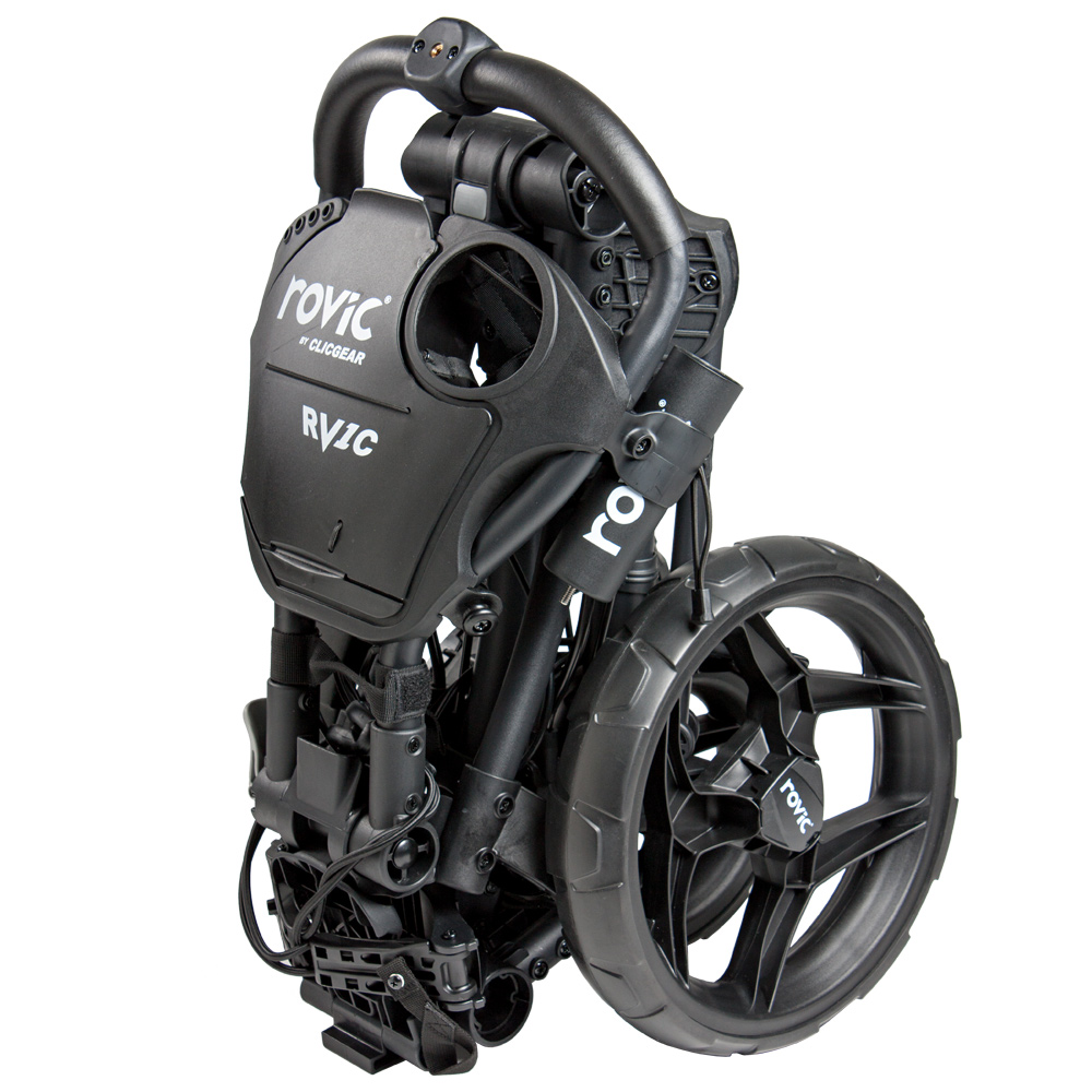 chariot rovic rv1c black golftechnic. Black Bedroom Furniture Sets. Home Design Ideas