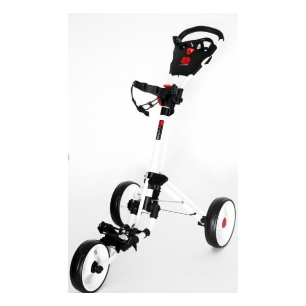 smartfold 3 roues blanc golftechnic. Black Bedroom Furniture Sets. Home Design Ideas