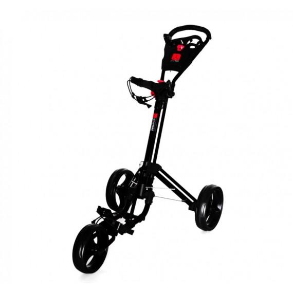 smartfold 3 roues noir golftechnic. Black Bedroom Furniture Sets. Home Design Ideas