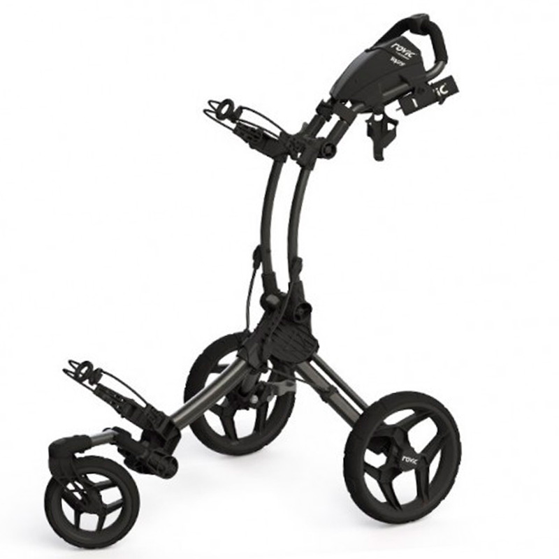 chariot rovic rv1s black golftechnic. Black Bedroom Furniture Sets. Home Design Ideas